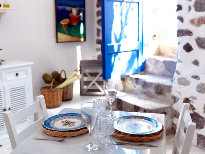 Luxury House Blue in Santorini